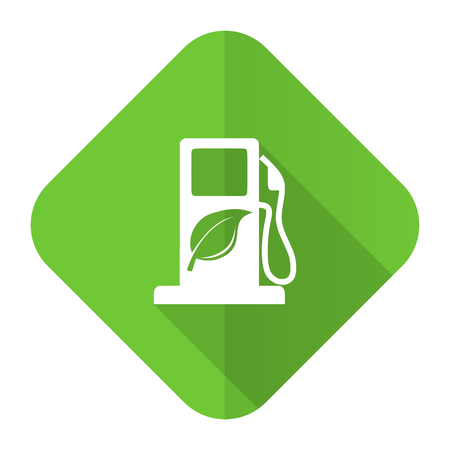 biofuel flat icon bio fuel sign photo