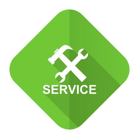 service flat icon photo