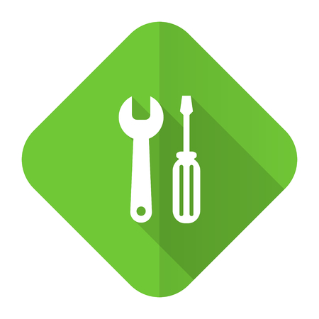 tools flat icon service sign photo