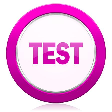 violet icon: test violet icon