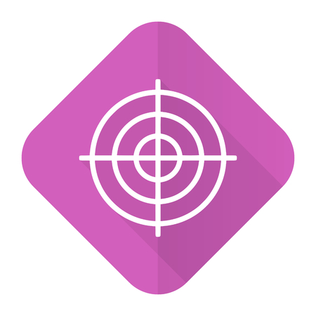 target pink flat icon photo