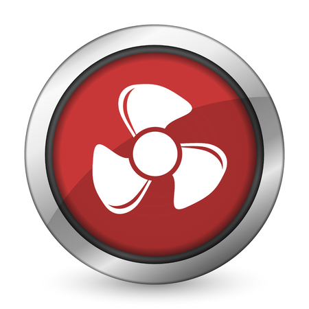 airflow: fan red icon