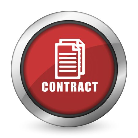 icom: contract red icon