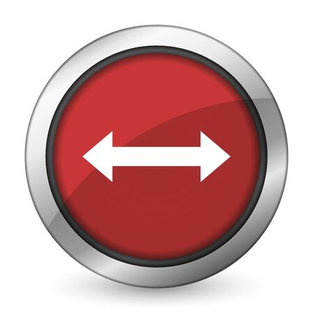 sterring: arrow red icon