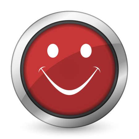 smile red icon photo
