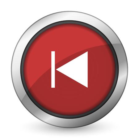 previous: previous red icon