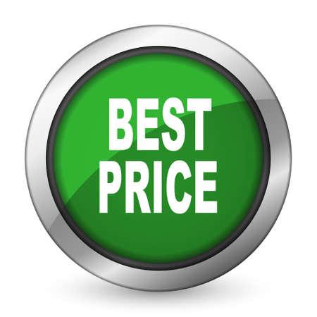 best price: best price green icon