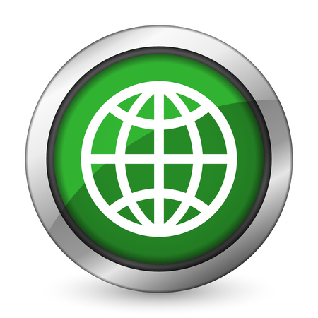 earth green icon photo