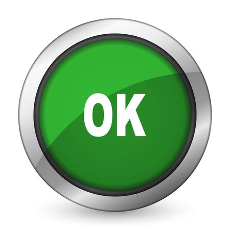 yea: ok green icon