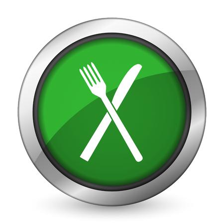 eat green icon restaurant symbol photo