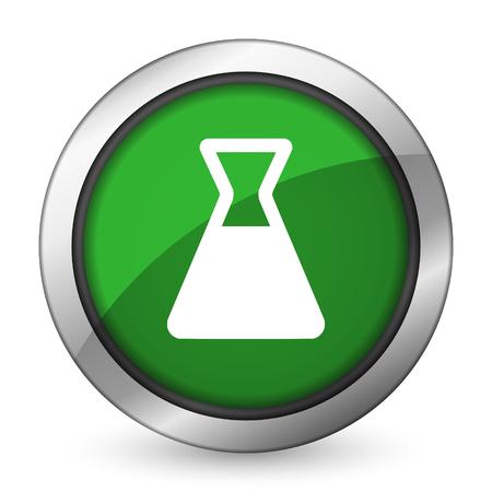 laboratory green icon photo