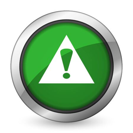 exclamation sign: exclamation sign green icon warning sign alert symbol