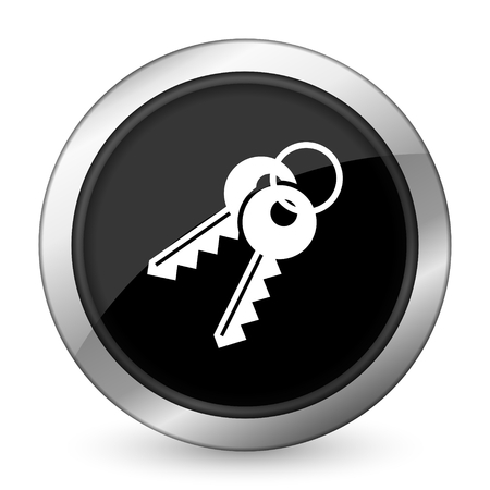 keys black icon photo