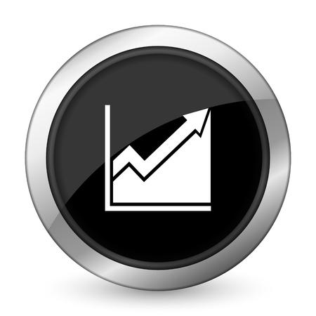 histogram: histogram black icon stock sign