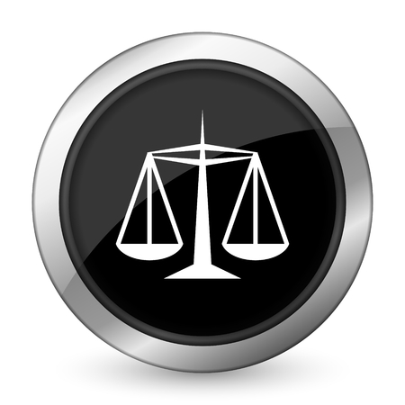 criminal act: justice black icon law sign