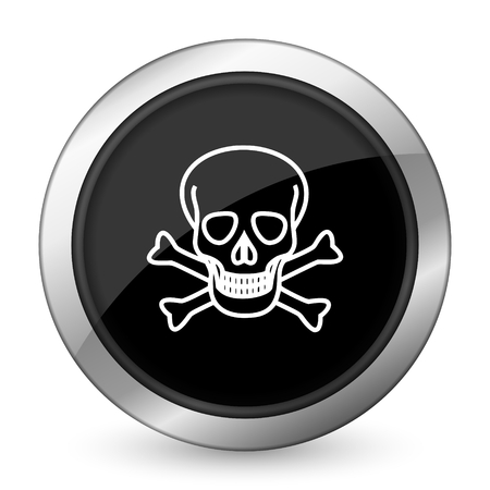pirating: skull black icon death sign