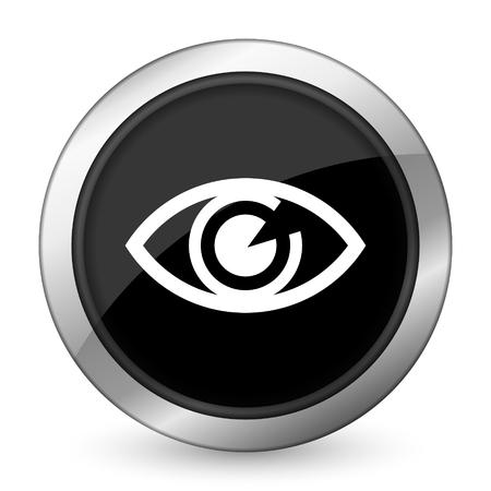 eye black icon view sign photo