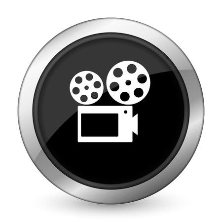 movie black icon cinema sign photo