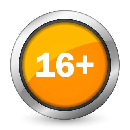 adults: adults orange icon