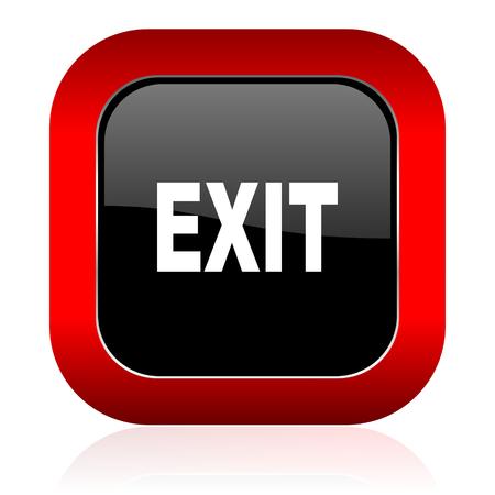 exit icon photo