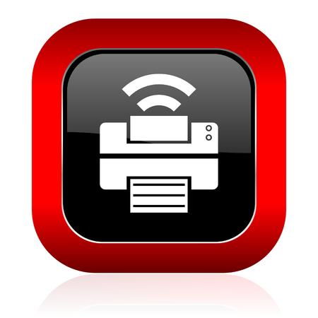 printer icon: printer icon wireless print sign