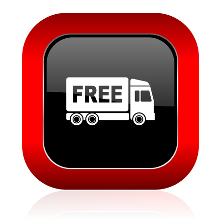 deliverance: free delivery icon transport sign