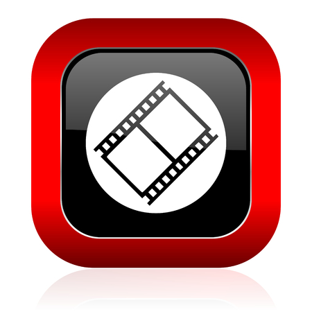 movie sign: film icon movie sign cinema symbol