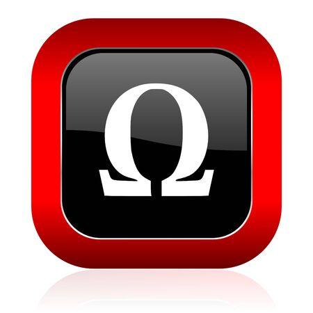 omega: omega icon