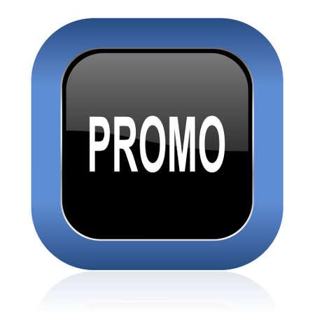 icon glossy: promo square glossy icon Archivio Fotografico