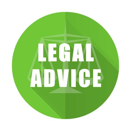 asesoria legal: asesoramiento jur�dico icono plana signo ley