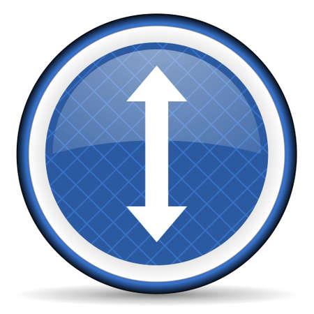 sterring: arrow blue icon