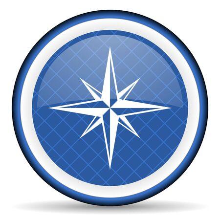 internet explorer: compass blue icon