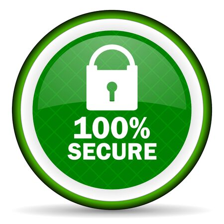 secure: secure green icon
