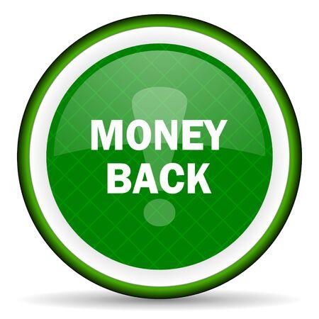 money back: money back green icon