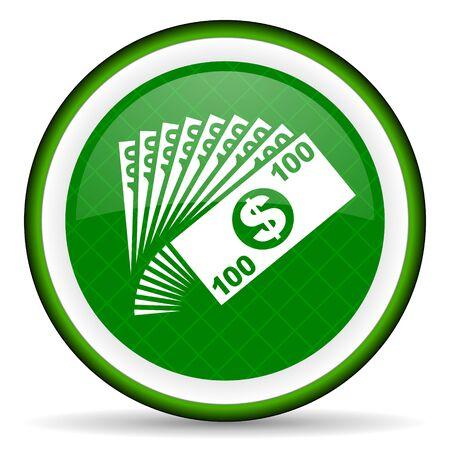 money green icon cash symbol photo
