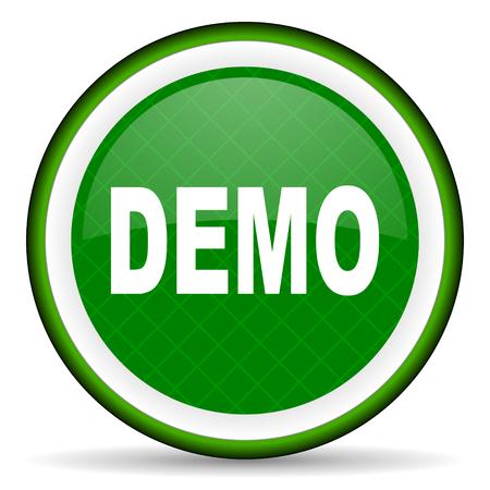 demo green icon photo
