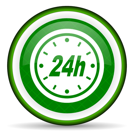 24h: 24h green icon