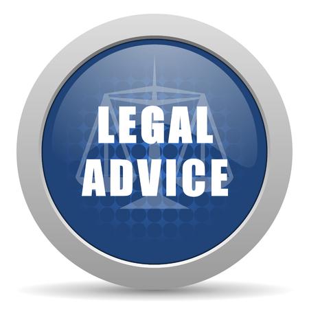 asesoria legal: asesoramiento jur�dico icono azul brillante Web