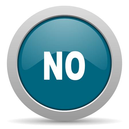 no blue glossy web icon photo