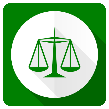 criminal act: justice flat icon law sign Stock Photo