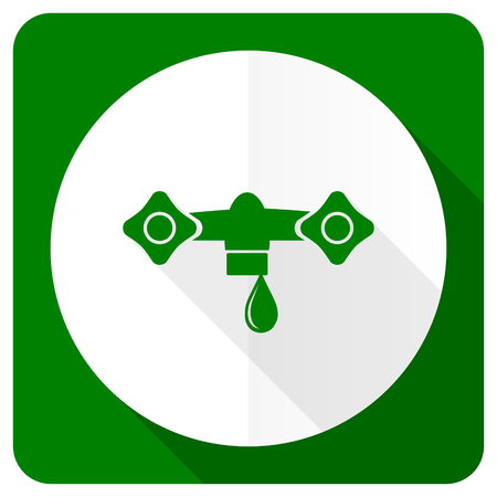 hydraulics: water flat icon hydraulics sign Stock Photo