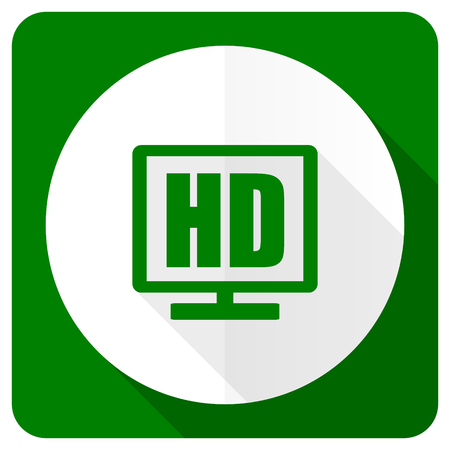 display: hd display flat icon