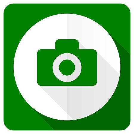 camera flat icon photo
