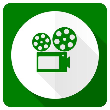 movie flat icon cinema sign photo