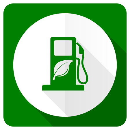 bio fuel: biofuel flat icon bio fuel sign Stock Photo