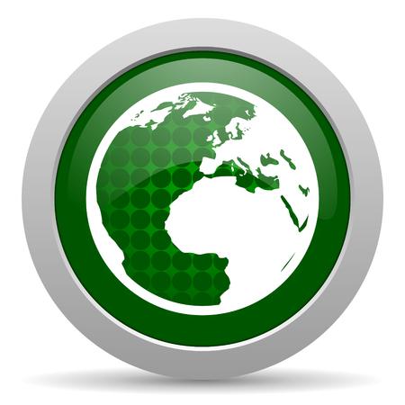 earth icon world sign photo