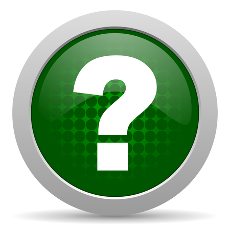 question mark icon ask sign photo
