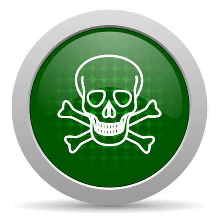 pirating: skull icon death sign
