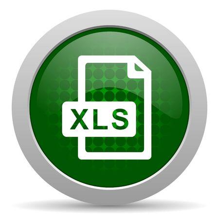 xls: xls file icon Stock Photo