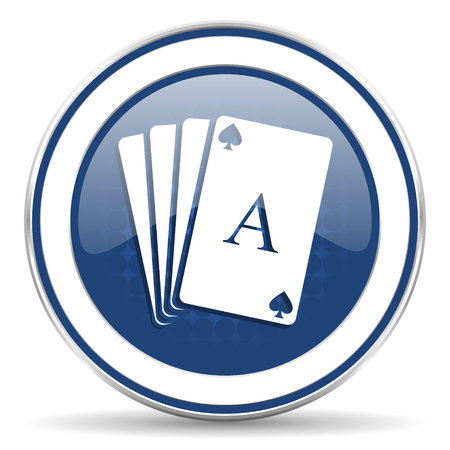 hazard sign: casino icon, hazard sign